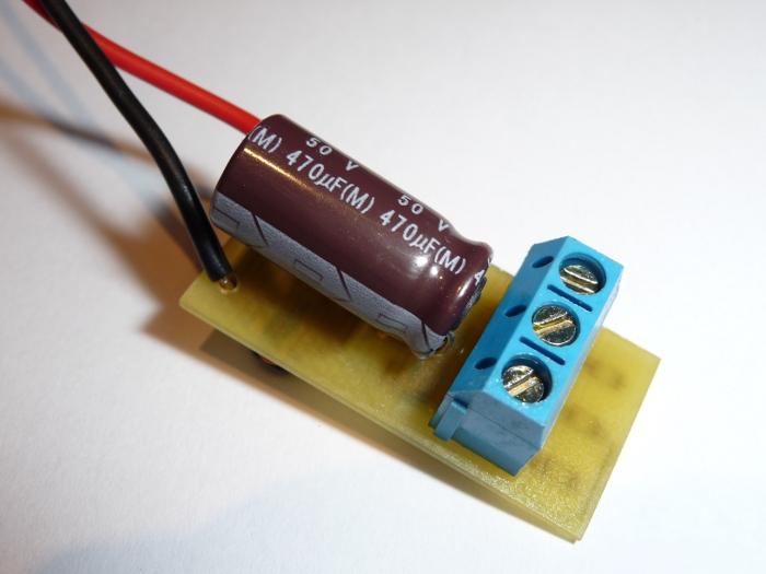 nagy teljelsíményű led lámpa készítése